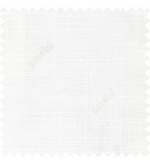 White course jute finish horizontal and vertical lines with transparent background cotton finished polyester sheer curtain