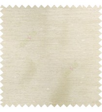 Light brown cream color horizontal thin thread stripes texture surface chenille polyester base fabric poly sheer curtain
