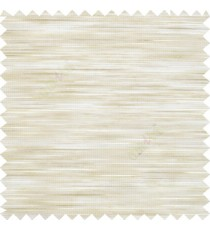 Light brown cream color shimmer narrow gap horizontal lines premium transparent polyester base sheer curtain
