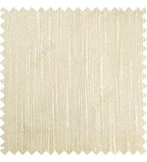 Brown beige color vertical chenille texture stripes with polyester transparent base fabric sheer curtain