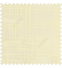 Half white course jute finish horizontal and vertical lines with transparent background cotton finished polyester sheer curtain