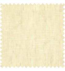 Grey cream color solid texture cotton finished with transparent soft feel base fabric vertical and horizontal lines sheer curtain