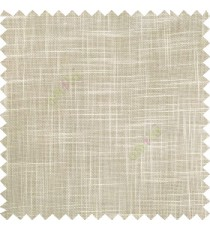 Beige cream course jute finish horizontal and vertical lines with transparent background cotton finished polyester sheer curtain