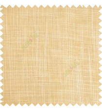 Light gold cream course jute finish horizontal and vertical lines with transparent background cotton finished polyester sheer curtain