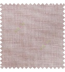 Dark purple cream course jute finish horizontal and vertical lines with transparent background cotton finished polyester sheer curtain