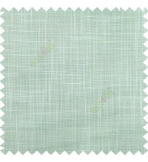 Light aqua blue course jute finish horizontal and vertical lines with transparent background cotton finished polyester sheer curtain