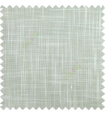 Light blue course jute finish horizontal and vertical lines with transparent background cotton finished polyester sheer curtain