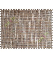 Beige Brown Zigzag Stripes Texture Poly Sofa Upholstery Fabric