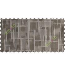Grey brown candi texture polycotton main curtain designs