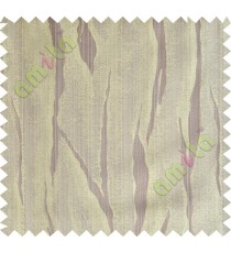 Brown yellow flowing candi polycotton main curtain designs
