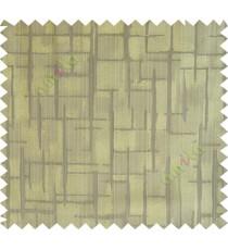Green brown candi texture polycotton main curtain designs