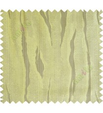 Brown green flowing candi polycotton main curtain designs