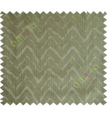 Grey green wavy curv polycotton main curtain designs