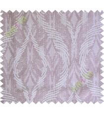 Purple grey lines polycotton main curtain designs
