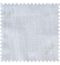 Pure white stripes check poly sheer curtain designs