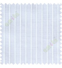 Pure white vertical bold thread lines poly sheer curtain designs