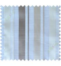 White beige brown main fabric light cut poly sheer curtain designs
