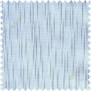 Black white stripes check poly sheer curtain designs