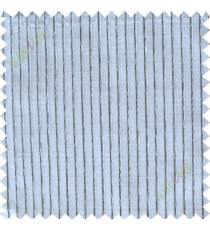 White and black vertical thread lines poly sheer curtain designs