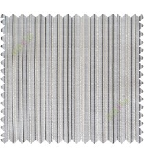Black beige white vertical stripes poly sheer curtain designs