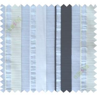 Black white beige main fabric light cut poly sheer curtain designs