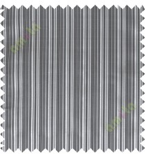 Black white beige solid check poly main curtain designs
