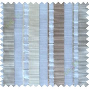 White peach beige main fabric light cut poly sheer curtain designs
