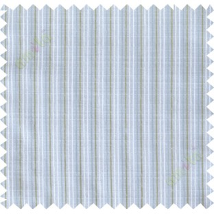 Green blue white vertical thread lines poly sheer curtain designs