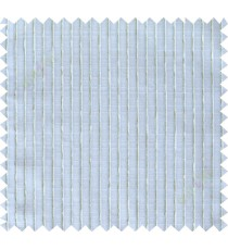 Blue green white vertical thread lines poly sheer curtain designs