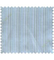 Green blue white vertical stripes poly main curtain designs