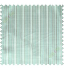 Green blue white solid check poly main curtain designs