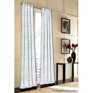 White floral design polycotton main curtain designs