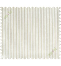 Beige vertical pencil stripes polycotton main curtain designs