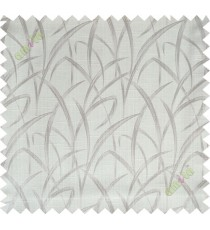 Beige maze leaf polycotton main curtain designs