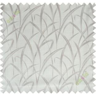 Beige maze leaf polycotton main curtain designs