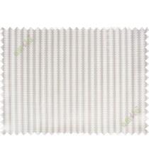 Brown beige vertical pencil stripes polycotton main curtain designs