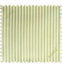 Yellow green vertical pencil stripes polycotton main curtain designs