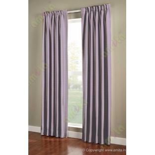 Dark purple brown vertical pencil stripes polycotton main curtain designs