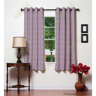 Dark purple brown vertical wevy polycotton main curtain designs
