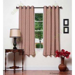 Dark purple leafy design polycotton main curtain designs