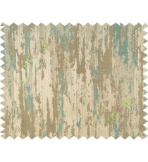 Lagoon green beige texture contemporry polycotton main curtain designs