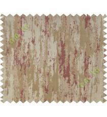 Orange brown texture contemporry polycotton main curtain designs