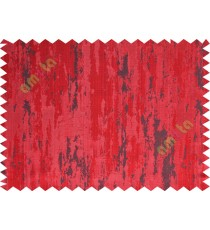 Red black texture contemporry polycotton main curtain designs