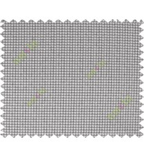 Beige black vertical small dot chain poly sheer curtain designs