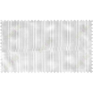 White grey beige vertical pin stripes poly sheer curtain designs
