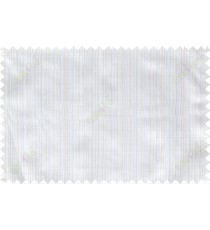 Beige white vertical pin stripes poly sheer curtain designs
