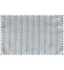 Black white beige vertical pin stripes poly sheer curtain designs