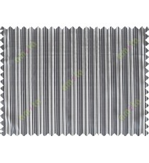 Black white beige color stripes poly main curtain designs