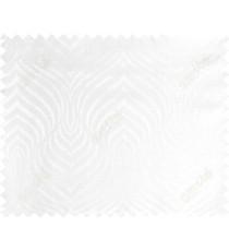 Pure white beautiful seamless retro design poly main curtain designs
