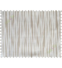 Beige grey colour beautiful seamless retro design poly main curtain designs